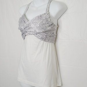 NWOT Lululemon Wrap It Up Tank - Dottie Dash W+B